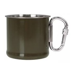 Kubek stalowy Mil-Tec z...